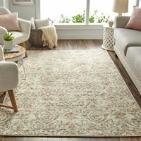 "Mohawk Home Relic Valeriana Neutral Distressed Area Rug (7'6 x 10') - 7' 6""x 10'"