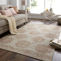 Mohawk Home Relic Jardine Neutral Distressed Area Rug (5' x 8') - 5'X8'