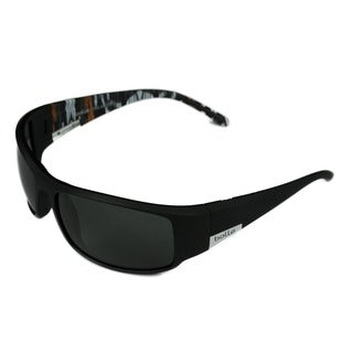 Bolle Mens Sport King Matte Black/Orange w/ Polarized TNS Lens Sunglasses - Black