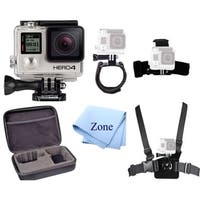 GoPro HERO 4 12MP Waterproof Sports & Action Camera Bundle