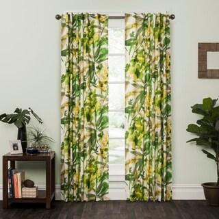 P Kaufmann Home Bora Bora Tropical Single Curtain Panel