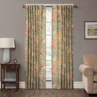 P Kaufmann Home Secret Garden Floral Curtain Panel