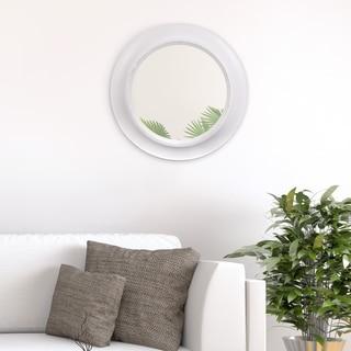 24 Inch Rustic Round Mirror