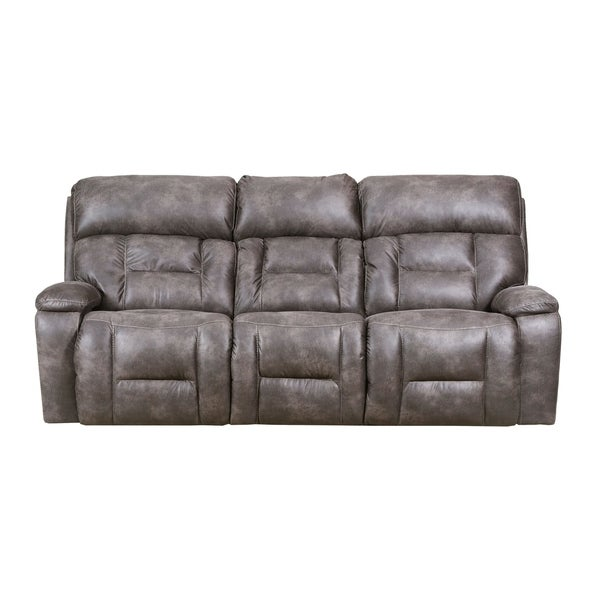 Simmons Beautyrest Dorado Charcoal Reclining Sofa