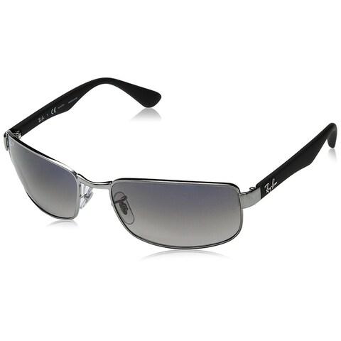 Ray-Ban RB3478 Gunmetal Frame Polarized Blue/Grey Gradient 60mm Lens Sunglasses