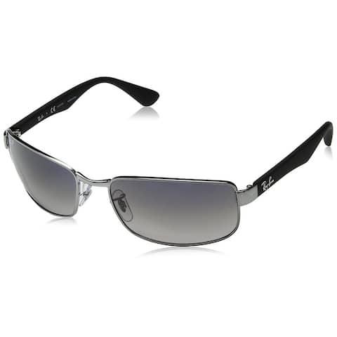 564f581163 Ray-Ban RB3478 Gunmetal Frame Polarized Blue/Grey Gradient 60mm Lens  Sunglasses