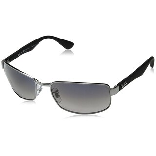 Ray-Ban RB3478 Gunmetal Frame Polarized Blue/Grey Gradient 60mm Lens Sunglasses