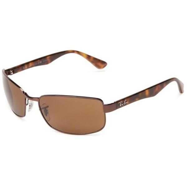 Shop Ray Ban Rb3478 Brown Tortoise Frame Polarized Brown