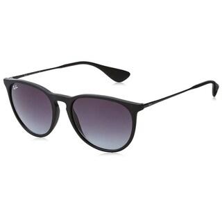 Ray-Ban RB4171 Erika Black Frame  Grey Gradient 54mm Lens Sunglasses
