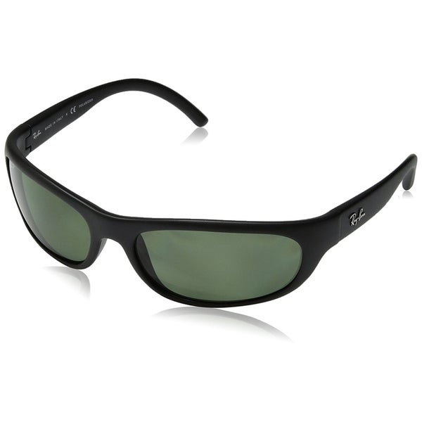 a2b781b754a Ray-Ban RB4033 Predator Black Frame Polarized Green Classic 60mm Lens  Sunglasses