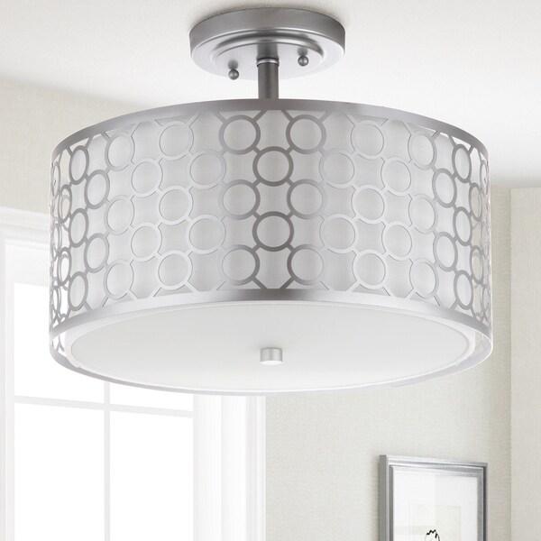 Shop Safavieh Lighting Giotta 3 Light Chrome Ceiling Light
