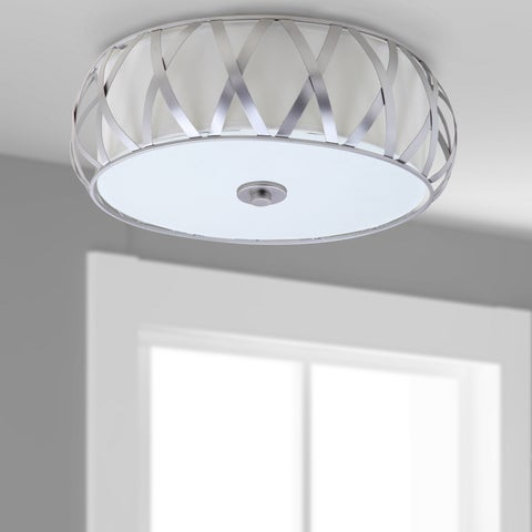 Safavieh Lighting 15.375-inch Charing Cross Ceiling Light - Chrome