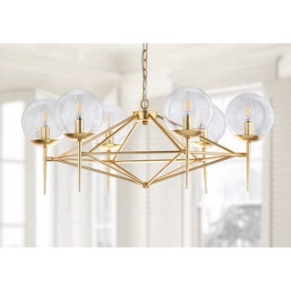 Safavieh Lighting 6-light Greyor Chandelier / Gold