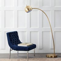 "Safavieh Lighting 66-inch Belami Floor Lamp - Gold - 12"" x 12"" x 66"""