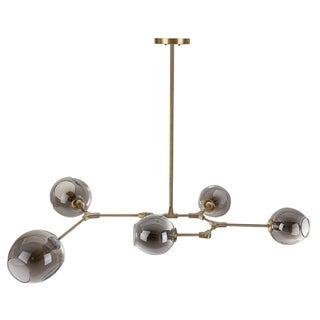 Safavieh Lighting Corbett 5-light Edison Bulb Greige Pendant