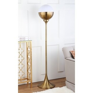 Safavieh Lighting 63.5-inch Renato Floor Lamp - Brass