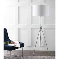 Safavieh Lighting 50-72-inch adjustable Cipriana Floor Lamp - White