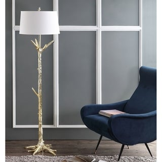 Safavieh Lighting 64.5-inch Thornton Floor Lamp - Gold