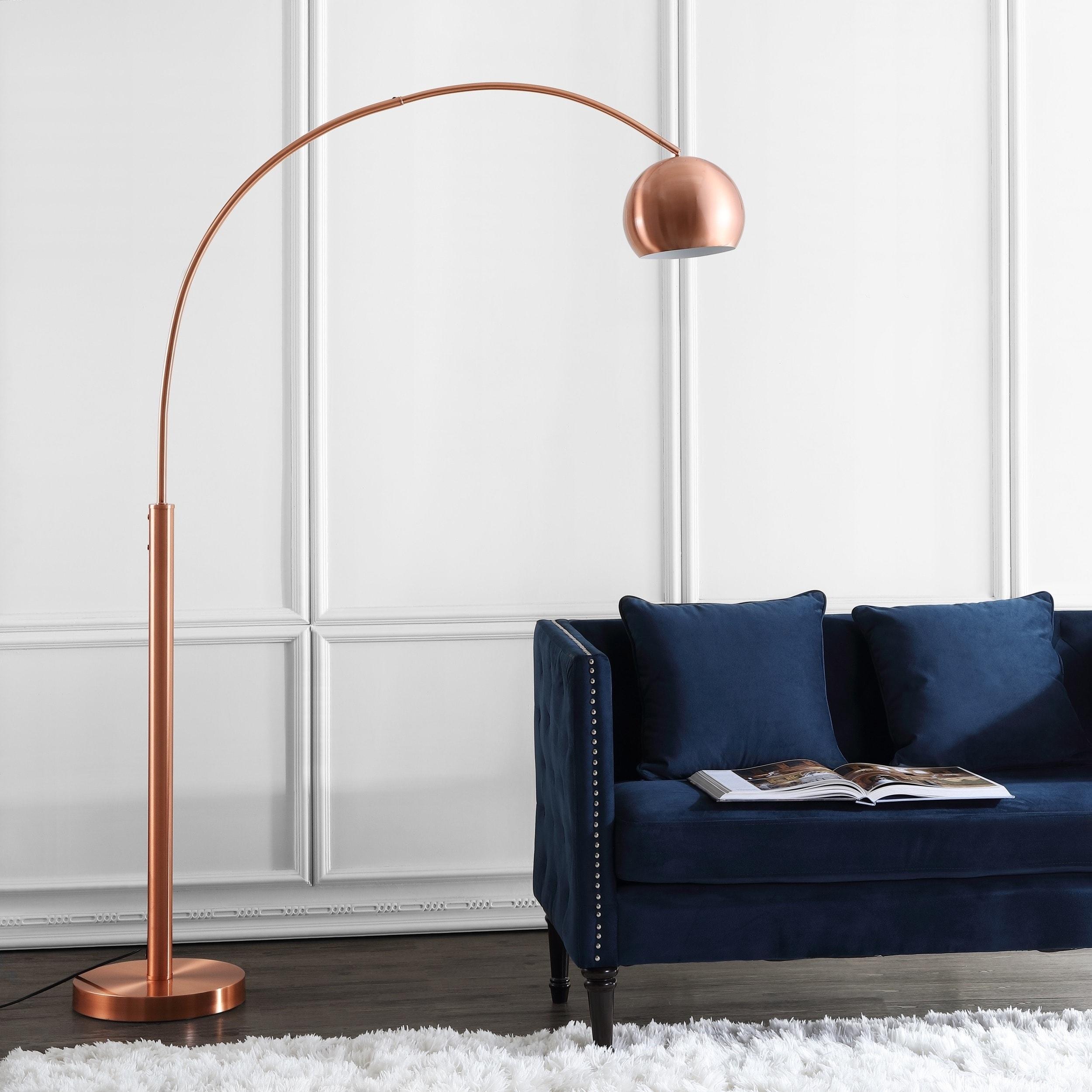 70 Inch Sade Copper Led Floor Lamp