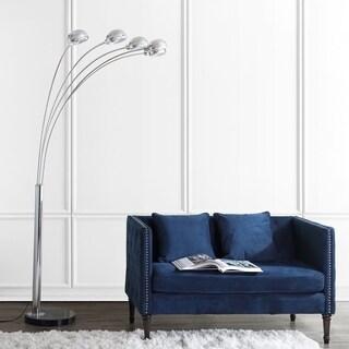 Safavieh Lighting 88-inch Gerrit Arc Floor Lamp - Charcoal