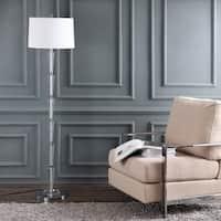 Safavieh Lighting 62-inch Stellan Floor Lamp - Chrome / White