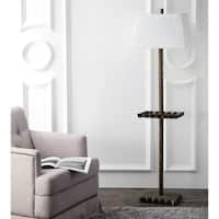 Safavieh Lighting 63-inch Breccan Tray Floor Lamp - Gold