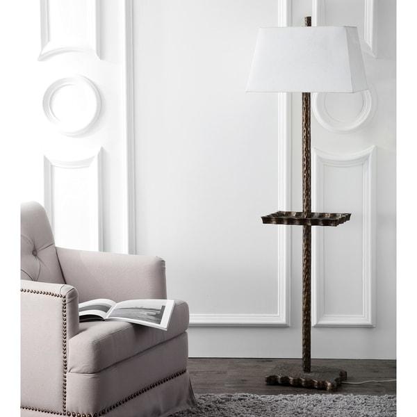 Safavieh Lighting 63-inch Breccan Tray Floor Lamp - Gold