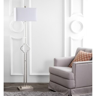 Safavieh Lighting 64-inch Kennelly Floor Lamp - Silver