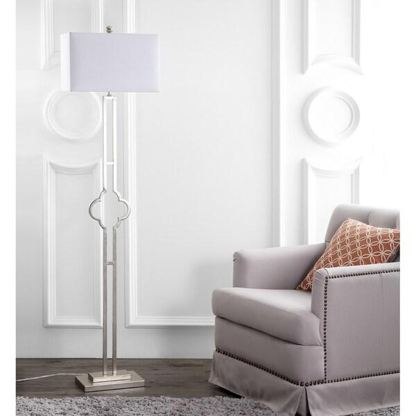 Safavieh Lighting 64-inch Kennelly Floor Lamp - Silver