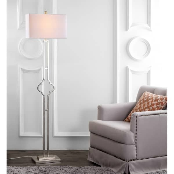Inch Kennelly Silver Led Floor Lamp
