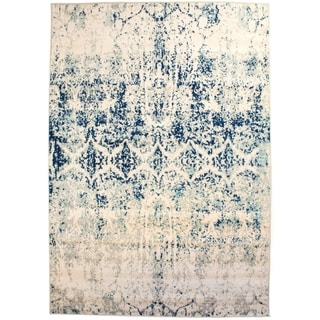 "Mohali Vintage Distressed Area Rug in Ivory, 3' 3"" x 5' - 3'3 x 5'"