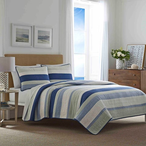 Nautica Terry Cove Green Quilt