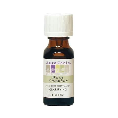 Aura Cacia 0.5-ounce White Camphor Essential Oil