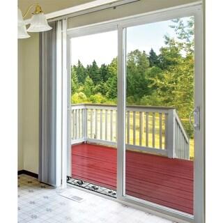 Adjustable Sliding Door Lock Bar - Durable Iron Glass Door Lock Bar