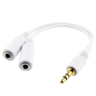 INSTEN Universal Headset Splitter for iPod/ Zune/ MP3/ PDA