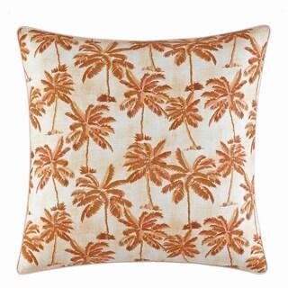 Tommy Bahama Kamari Printed Palms Throw Pillow