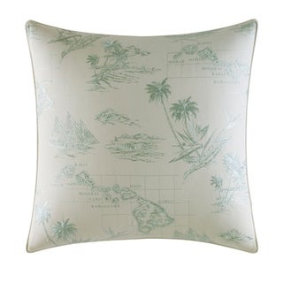 Tommy Bahama Abacos Map Throw Pillow