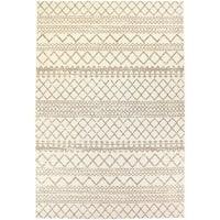Dynamic Textiles Lanai Cream Oriental Indoor/Outdoor Area Rug - 7'10 x 10'10