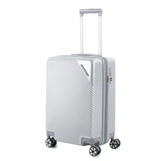 AGT Rockies 20-inch Carry-On TSA Lock Expandable Hardside Spinner Suitcase