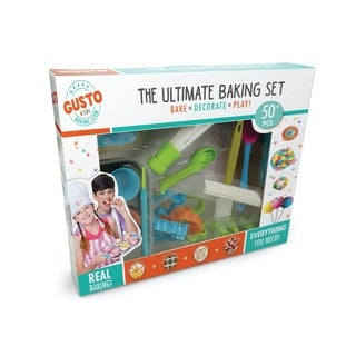 Gusto Ultimate Baking Set - Bake, Decorate, Play