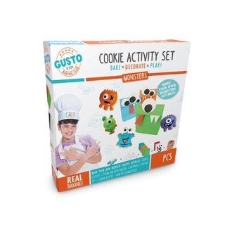 Gusto Monsters Cookie Activity Set - Bake, Decorate, Play