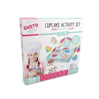 Gusto Unicorn Cookie Activity Set - Bake, Decorate, Play