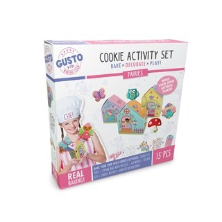 Gusto Faries Cookie Activity Set - Bake, Decorate, Play