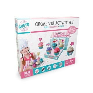 Gusto Cupcake Shop Activity Set - Bake, Decorate, Play