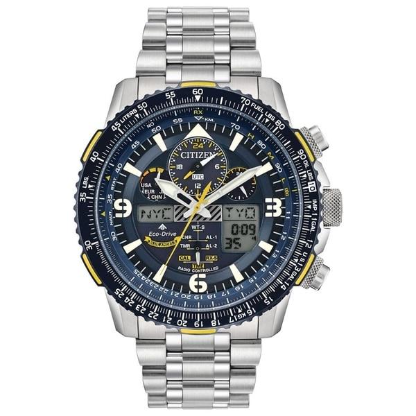 Citizen Men's JY8078-52L Eco-Drive Blue Angels Skyhawk A-T Watch - N/A