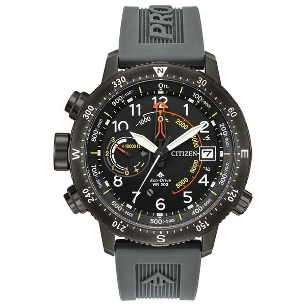 d900ca371620 Shop Citizen Men s BN5057-00E Eco-Drive Promaster Altichron Watch - Free  Shipping Today - Overstock - 22250490