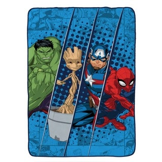 Marvel Universe Battlefront Twin Blanket