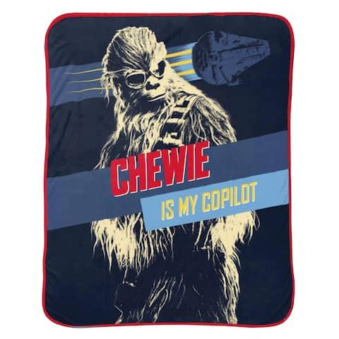 Star Wars Han Solo Vehicle Stripe Twin Blanket