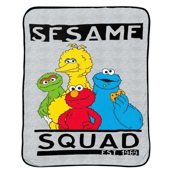 Sesame Street Hip Elmo Twin Blanket