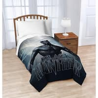 Marvel Black Panther Blue Tribe Twin Blanket